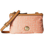 6pm Tommy Hilfiger Jane Double Top Zip Crossbody