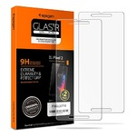 Amazon Spigen Pixel 2 Screen Protector [ Tempered Glass x 2 ] [ Case Friendly ] 2 Pack for Google Pixel 2 (2017)