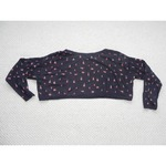 Poshmark Rosebud crop sweater