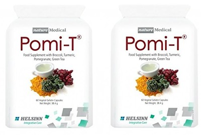Pomi-T Polyphenol Food Supplement 60 Capsules (120 Capsules) by POMI-T, Amazon, США