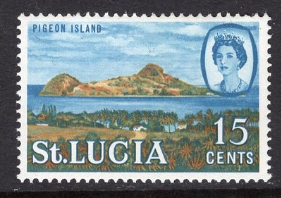 St. Lucia #190 MNH 1964, HipStamp, США