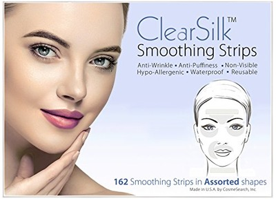 ClearSilk Smoothing Strips (Assorted 162 Ct) Facial Wrinkle Repair and Prevention Clear Silk Anti-Wrinkle Patches, Amazon, США