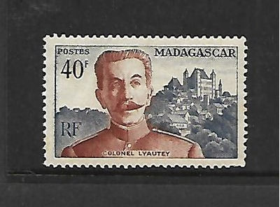 MALAGASY REPUBLIC, 291, MNH, COLONEL LYAUTEY, HipStamp, США