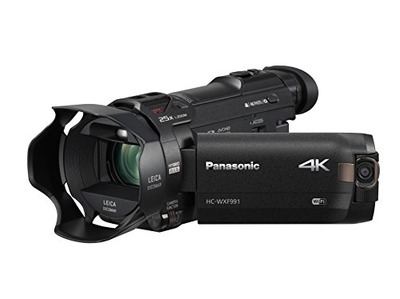 Panasonic HC-WXF991K 4K Ultra HD Camcorder with Wi-Fi, Built with Multi Scene Twin Camera (Black), Amazon, США
