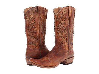 Stetson Cracked Inlay Snip Toe Boot, 6pm, США