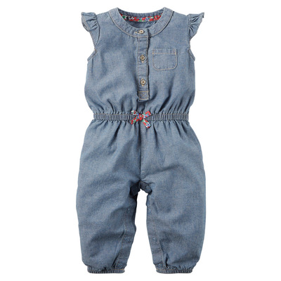 Chambray Jumpsuit, Carters, США