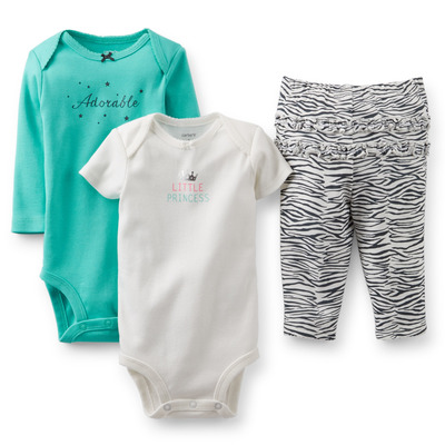 3-Piece Bodysuit & Pant Set, Carters, США