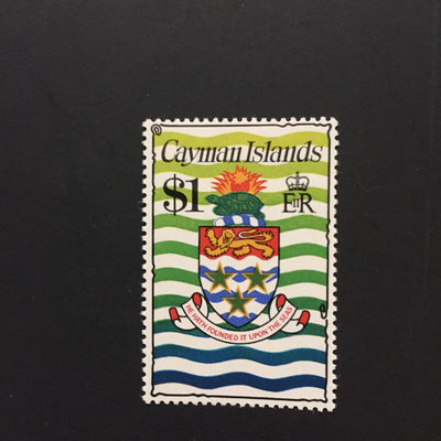 Cayman Islands #344**, HipStamp, США