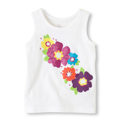 matchables graphic tank top, ChildrensPlace, США