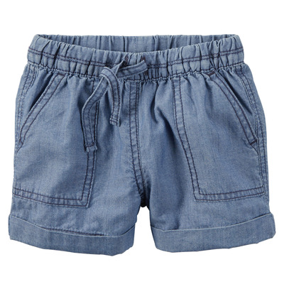 Pull-On Chambray Shorts, Carters, США