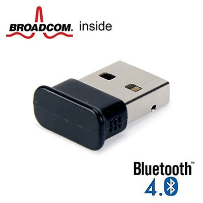 GMYLE Bluetooth Adapter Dongle, Ultra-Mini USB Broadcom BCM20702 Class 2 Bluetooth V4.0 Dual Mode Dongle Wireless Adapter with LED, Amazon, США