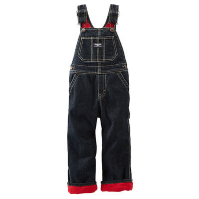 FLEECE-LINED DENIM OVERALLS, OshKosh, США