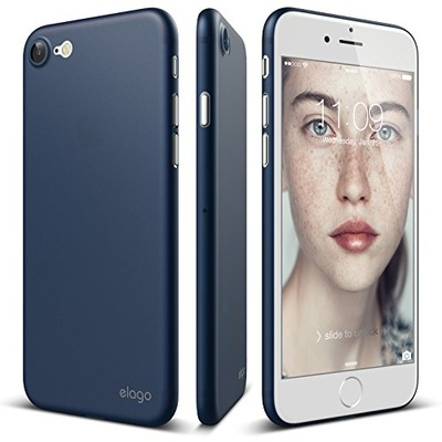 elago iPhone 7 case [Origin][Jean Indigo] - [Scratch Protection Only 0.38mm][For Minimalists][True Fit] - for iPhone 7, Amazon, США