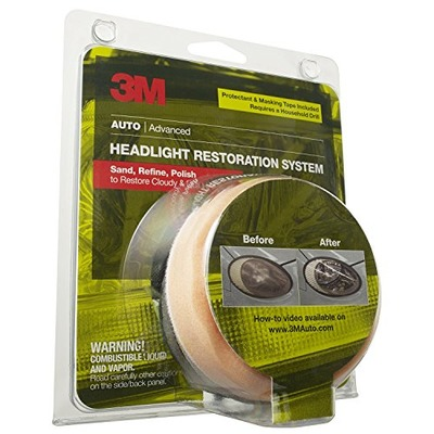 3M 39045 Headlight Renewal Kit with Protectant, Amazon, США