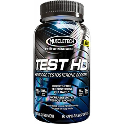MuscleTech Test HD, Testosterone Booster Supplement, 90 Count, Amazon, США