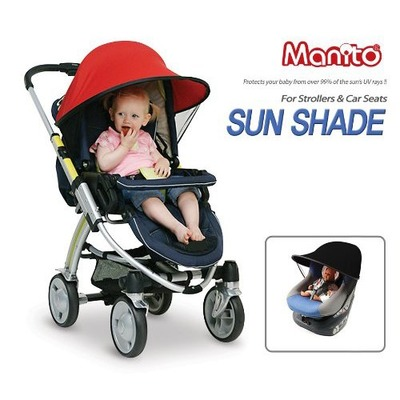 Manito Sun Shade for Strollers and Car Seats (7 Available Colors), Amazon, США