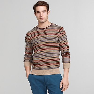 MULTI STRIPE CREW NECK SWEATER, TommyHilfiger, США