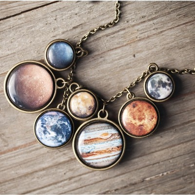SOLAR SYSTEM NECKLACE, ILoveScienceStore, США
