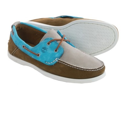 Timberland Heritage CW 2-Eye Boat Shoes - Nubuck (For Men), Sierratradingpost, США