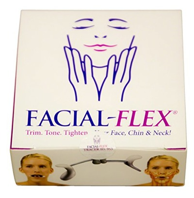 Facial Flex Facial Exercise and Neck Toning Kit FDA Registered Device, Facial Flex Bands 8 oz & 6 oz Packs & Carrying Case - Jaw Exercise Devices for Face Lift Toning & Strengthening, Amazon, США