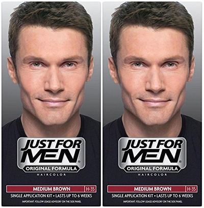 Just for Men Shampoo-In Hair Color Medium Brown(2 Pack), Amazon, США
