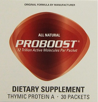 ProBoost Thymic Protein A (4 mcg, 30 packets) by Genicel Inc., Amazon, США