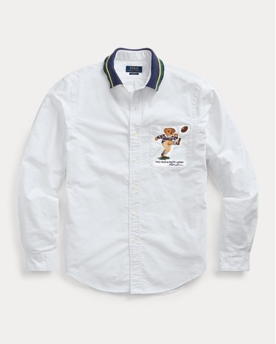 Classic Fit Kicker Bear Shirt, RalphLauren, США