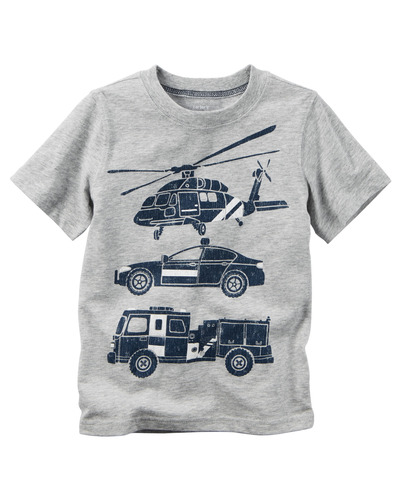 Toddler Boy Rescue Car Graphic Tee, Carters, США