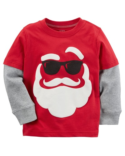 Toddler Boy Santa Double-Decker Tee | Carters.com, Carters, США