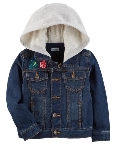 Hooded Denim Jacket | Carters.com, Carters, США