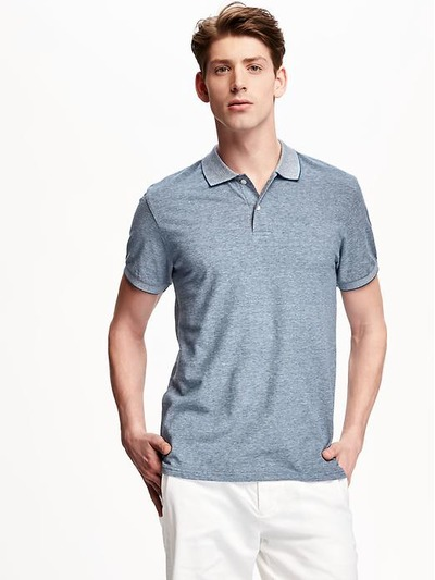 Short-Sleeve Pique Polo for Men, OldNavy, США