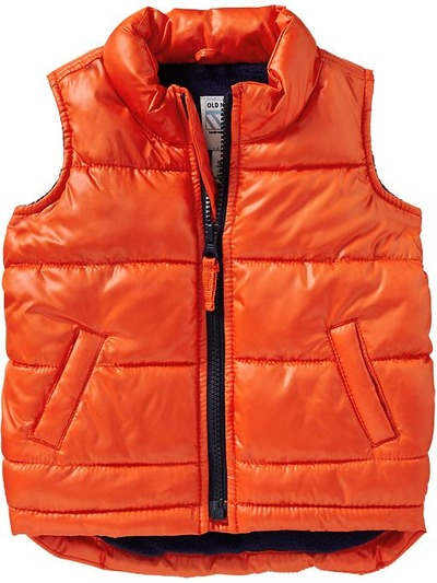 Frost-Free Quilted Vests for Baby, OldNavy, США