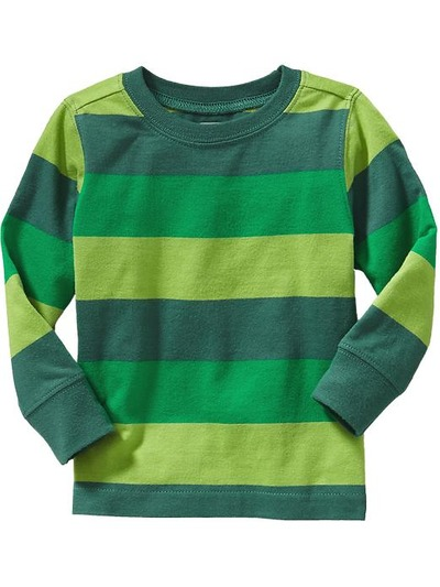 Striped Crew-Neck Tees for Baby, OldNavy, США