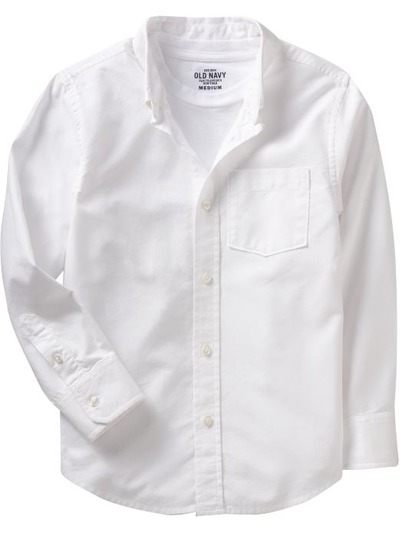 Boys Uniform Oxford Shirts, OldNavy, США