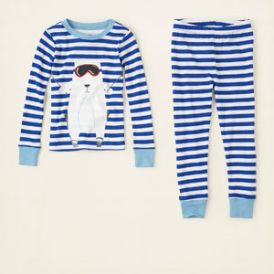 striped cotton pjs, ChildrensPlace, США