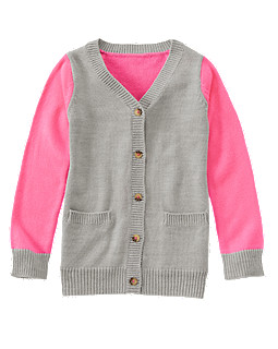 Colorblocked Cardigan, Gymboree, США