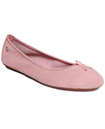 Hush Puppies Women's Chaste Ballet Flats -- Breast Cancer Awareness Edition, Macys, США