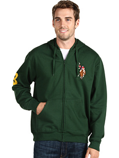 U.S. POLO ASSN. Full Zip Hoodie W/ Multi Color Pony, 6pm, США