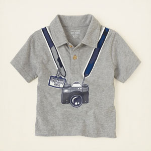 graphic polo, ChildrensPlace, США