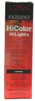 L'oreal Excellence Hicolor, Copper Highlights, 1.2 ounce, Amazon, США