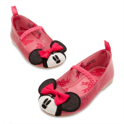 Minnie Mouse Pink Ballet Flat Shoes for Baby, DisneyStore, США