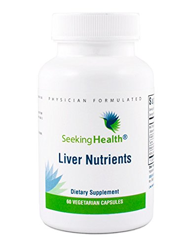 Liver Nutrients | 60 Vegetarian Capsules | Seeking Health | Physician-formulated | Provides A Balanced Combination Of Natural Nutrients That Support Liver Detoxification | Free Of Common Allergens, Amazon, США