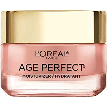 L'Oreal Paris 4.1 out of 5 stars  1,458 Reviews Face Moisturizer by L'Oreal Paris Skin Care I Age Perfect Rosy Tone Moisturizer for Visibly Younger Looking Skin I Anti-Aging Day Cream I 1.7 oz. - Packaging May Vary, Amazon, США
