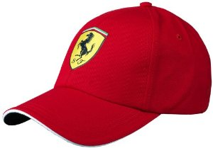 Ferrari 5100039-600-000 Red One Size Kids' Classic Cap, Amazon, США
