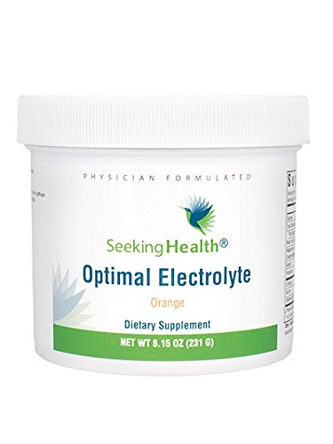 Optimal Electrolyte | Orange Flavor | 30 Powder Servings | Provides Key Nutrients In An Easy-To-Use Powder For Mix In Juice or Water | Non-GMO | Soy-Free | Physician Formulated | Seeking Health, Amazon, США