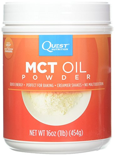 Quest Nutrition MCT Powder Oil, 16 Ounce (Pack of 2), Amazon, США