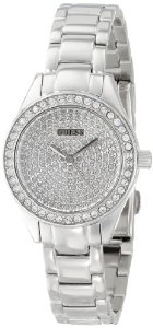 GUESS Women's U0230L1 Analog Display Quartz Silver Watch, Amazon, США