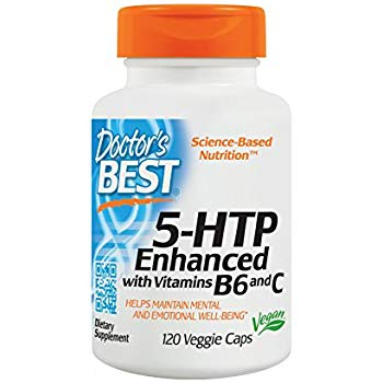 Doctor's Best 5-HTP Enhanced with Vitamins B6 and C, Amazon, США