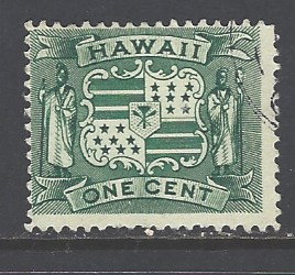 Hawaii Sc # 80 used (RS), HipStamp, США