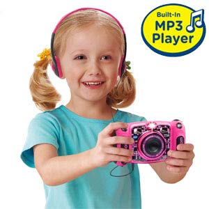 VTech Kidizoom Duo 5.0 Deluxe Digital Selfie Camera with MP3 Player & Headphones, Pink, Amazon, США